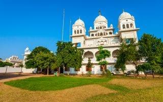 a Sikh Gurdwara
