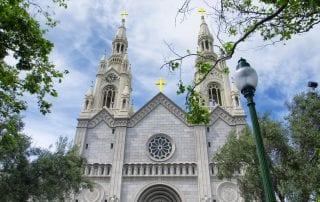 Saint Peter and Paul Church in San Francisco California